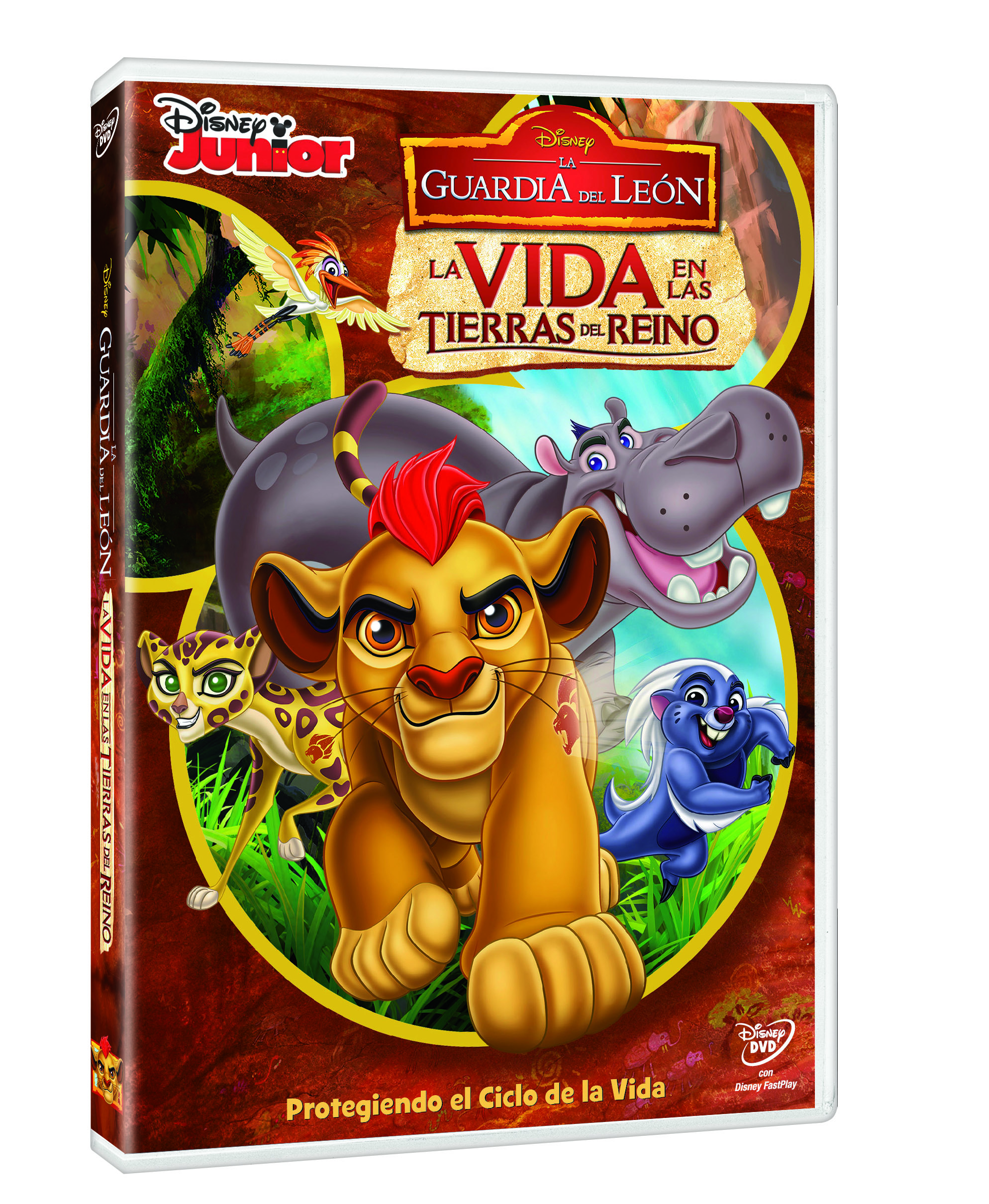 The Lion Guard dvd
