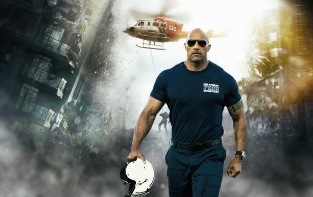 dwayne johnson as ray in san andreas