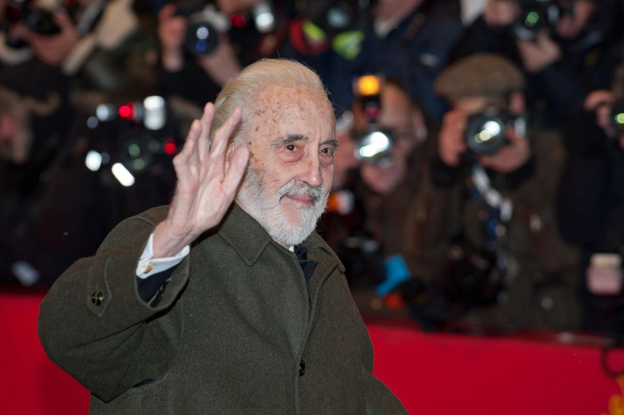 Christopher Lee Berlinale 2012