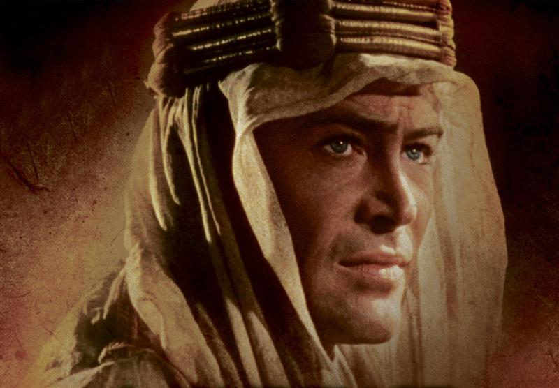 peter o toole as lawrence of arabia