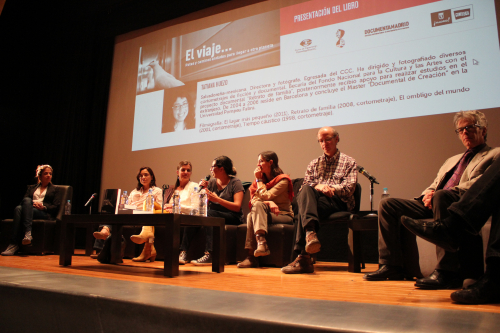 Libro elviaje documental cine ccc conferencia